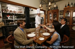 Jantares Românticos em Walt Disney World Resort