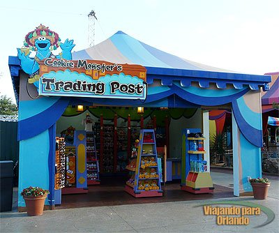 Cookie Monster's Trading Post