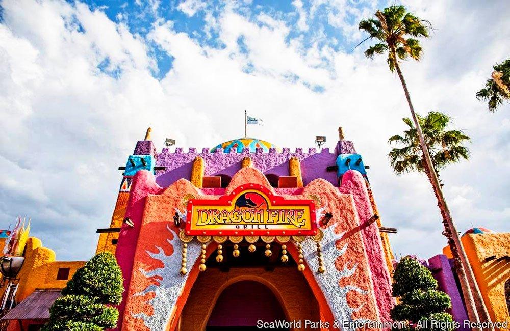 Busch Gardens Tampa inaugura o restaurante temático Dragon Fire Grill