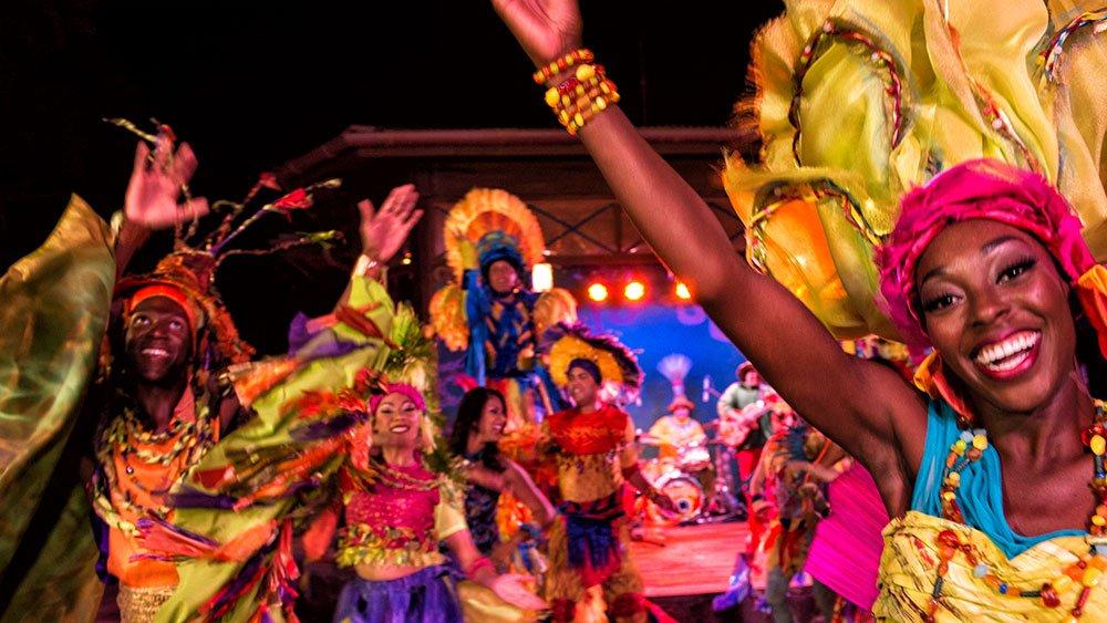 Discovery Island Carnivale estreia no fim de semana do Memorial Day!