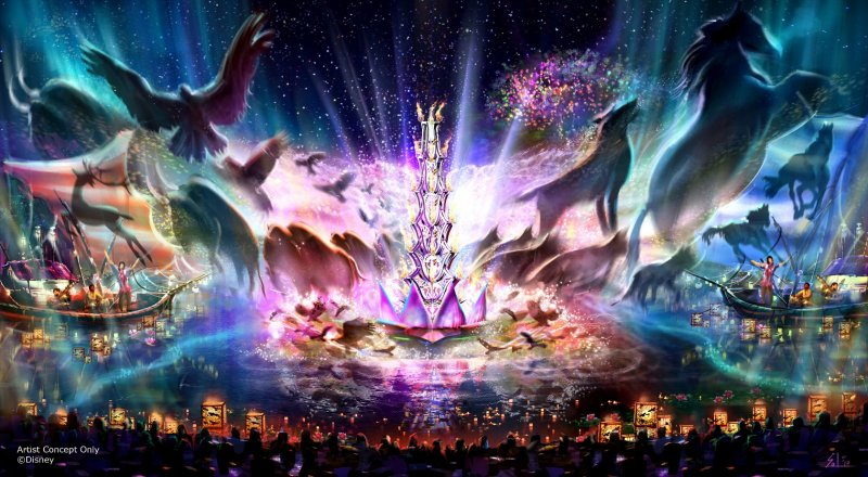 O espetáculo Rivers of Light estreia no dia 22 de abril no Animal Kingdom