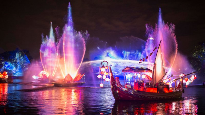 O espetáculo Rivers of Light irá – finalmente – estrear no parque Disney's Animal Kingdom