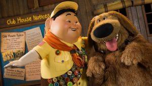 A Disney anunciou que irá estrear um novo show com Russell e Dug no parque Disney's Animal Kingdom em 2018