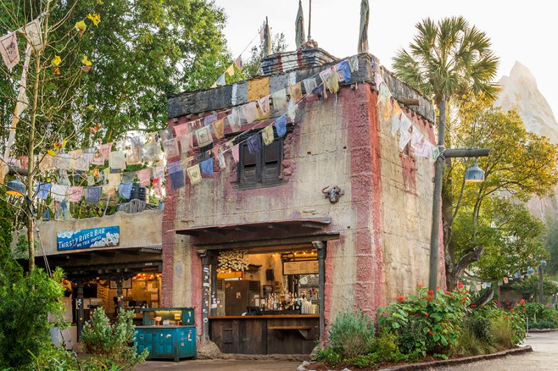 Foi inaugurado o Thirsty River Bar and Trek Snacks no Disney's Animal Kingdom