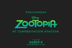 Zootopia chega ao parque Disney's Animal Kingdom no dia 29 de janeiro de 2016