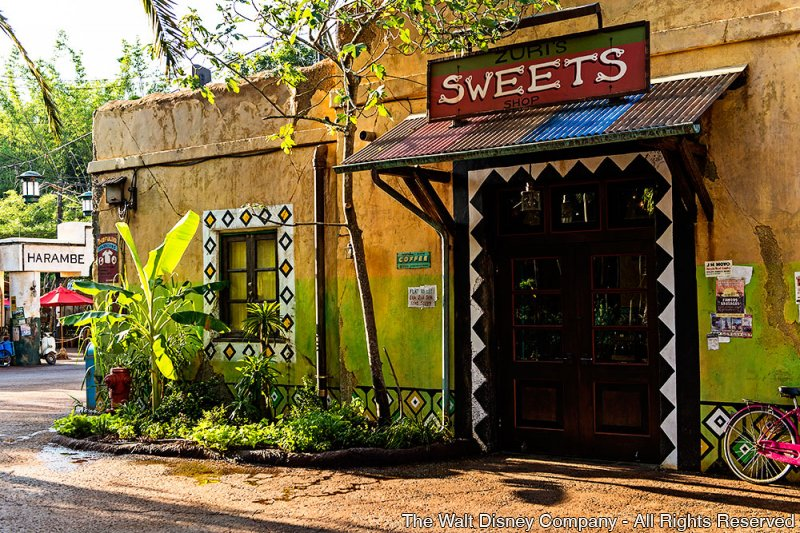 Zuri's Sweets Shop foi inaugurado no parque Disney's Animal Kingdom