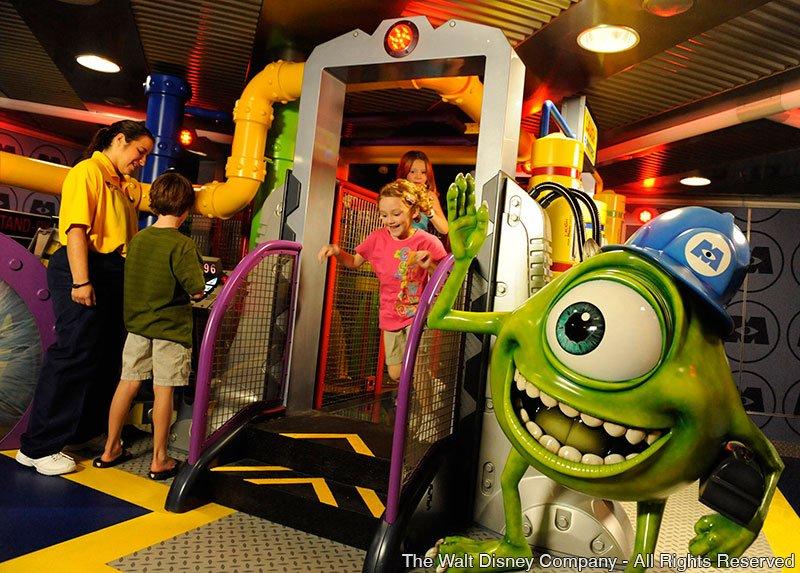 Disney Cruise Line oferece experiências e atividades para crianças de todas as idades