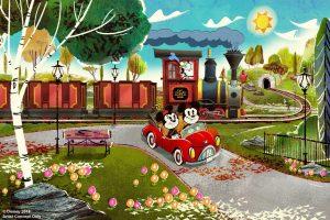 A atração Mickey & Minnie's Runaway Railway será inaugurada em 2019 no Disney's Hollywood Studios