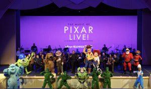 A Disney irá transmitir o novo show The Music of Pixar Live! no próximo dia 29 de junho de 2017