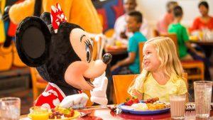 Alterações nos Planos de Refeições da Disney para 2017
