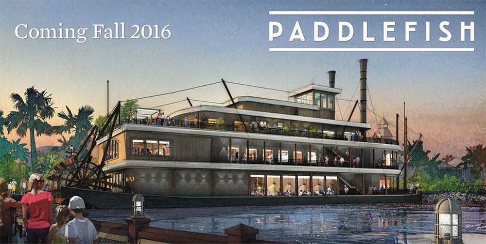 O restaurante Paddlefish será inaugurado em Disney Springs no outono