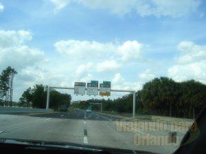Dirigindo em Orlando