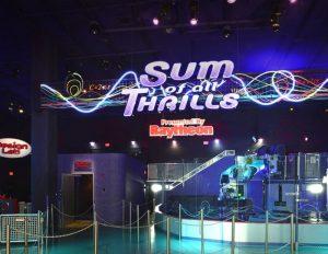As exibições The Sum of All Thrills e StormStruck foram fechadas definitivamente