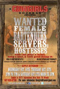 Cowgirls Rockbar Orlando