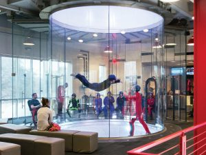 iFly inaugura segundo túnel de vento