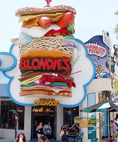 Blondie's Home of the Dagwood