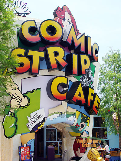 Comic Strip Cafe