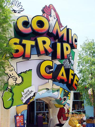 King's Row and Comic Strip Lane