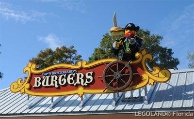 Cap'n Brickbeard's Burger