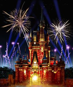 O novo espetáculo noturno Happily Ever After estreia no parque Magic Kingdom no dia 12 de maio de 2017