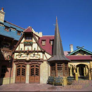 O Pinocchio Village Haus já está aceitando pedidos pelo aplicativo My Disney Experience
