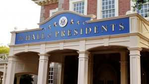 A Disney segue aprimorando o teatro da atração The Hall of Presidents
