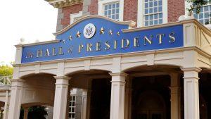 A Disney segue aprimorando o teatro da atração The Hall of Presidents