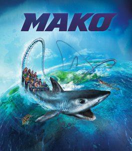 A montanha-russa Mako será inaugurada no parque SeaWorld Orlando em 10 de junho