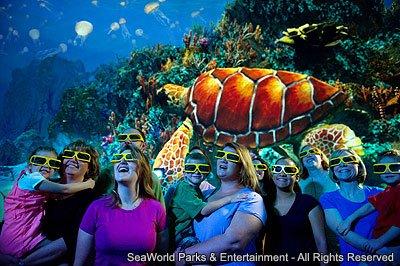Curiosidades sobre a atração TurtleTrek do parque SeaWorld