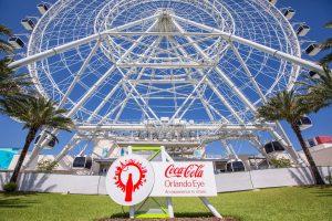 The Coca-Cola Orlando Eye ficará fechada de 30 de janeiro a 08 de fevereiro de 2017