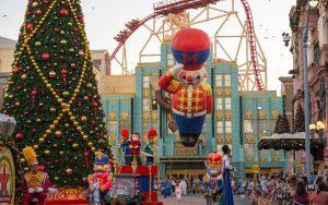 Conheça os eventos de Natal e Réveillon do complexo Universal Orlando Resort