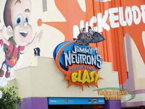 Jimmy Neutron's Nicktoon Blast
