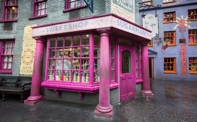 Sugarplum's Sweetshop abre em The Wizarding World of Harry Potter – Diagon Alley