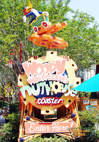 Woody Woodpeckers Nuthouse Coaster