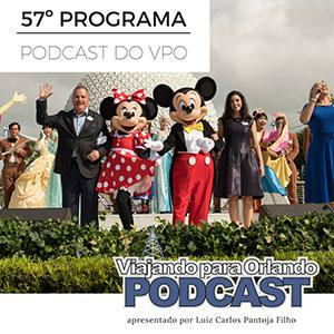 Viajando para Orlando – Podcast – 57