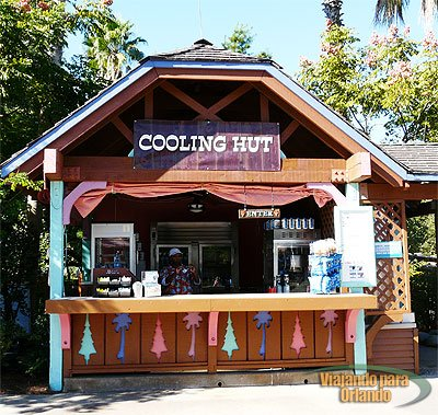 Cooling Hut