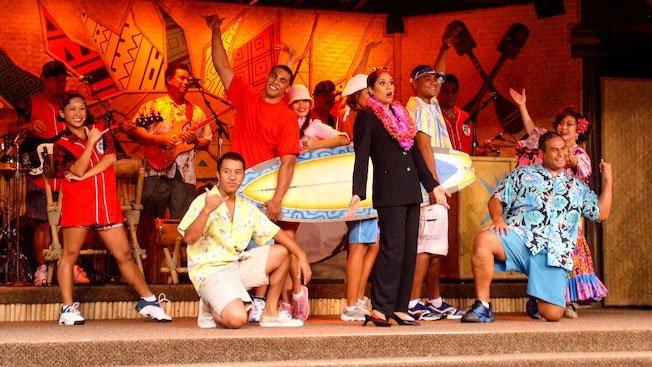 Disneys Spirit of Aloha Show