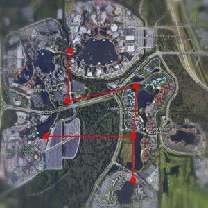 Surgem rumores a respeito de um novo sistema de transporte por gôndolas em Walt Disney World Resort