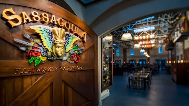 Sassagoula Floatworks and Food Factory Food Court