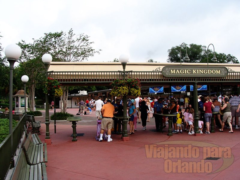 Regras dos parques do Walt Disney World Resort