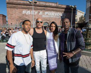 As estrelas de Fast & Furious celebraram a inauguração da atração Fast & Furious – Supercharged