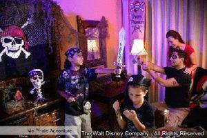 """""""Me Pirate Adventure"""" é a nova aventura oferecida para os hóspedes do complexo Disney"""