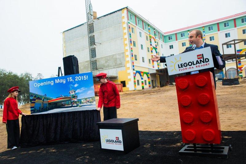 Legoland Hotel será inaugurado em 15 de maio de 2015 e uma nova área temática chega no verão americano