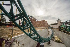 Busch Gardens Tampa Bay divulga andamento das obras da Cobra's Curse