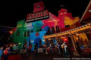 Antojitos acaba de estrear como parte da expansão histórica do Universal Orlando