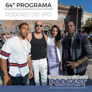 Viajando para Orlando – Podcast – 64