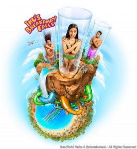 Conheça mais detalhes sobre a atração Ihu's Breakaway Falls – Aquatica