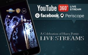 Assista ao vivo pela Internet alguns momentos do evento A Celebration of Harry Potter