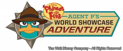 Disney Phineas & Ferb: Agent P's World Showcase Adventure
