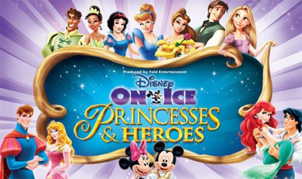 Disney On Ice – Princesses & Heroes – no Amway Center dias 13, 14 e 15 de setembro de 2013